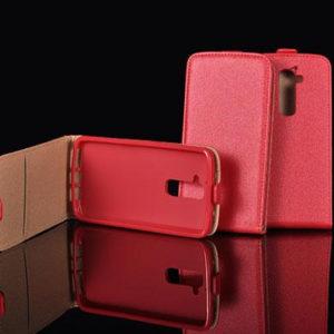 Lenyitható piros iPhone 5 tok