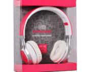 extra bass pink fejhallgató