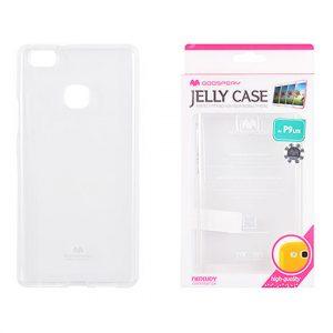 Huawei P9 Lite Átlátszó szilikon tok, Jelly