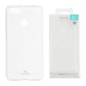 Huawei p9 lite mini Átlátszó szilikon tok, Jelly