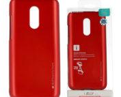 Xiaomi, redmi note 5, 5 plus, piros, szilikon tok ijelly