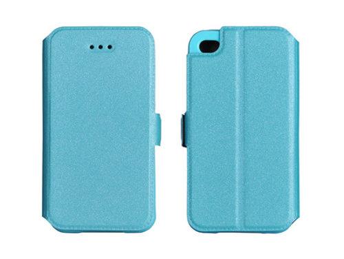 Samsung Galaxy A3 oldalra nyitható tok kék