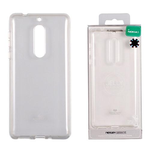 Nokia 5 Átlátszó szilikon tok, Jelly
