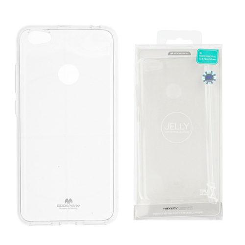 Xiaomi Redmi Note 5A Átlátszó szilikon tok, Jelly