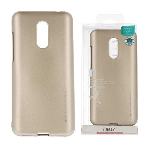 Xiaomi, redmi note 5, 5 plus, arany, szilikon tok ijelly