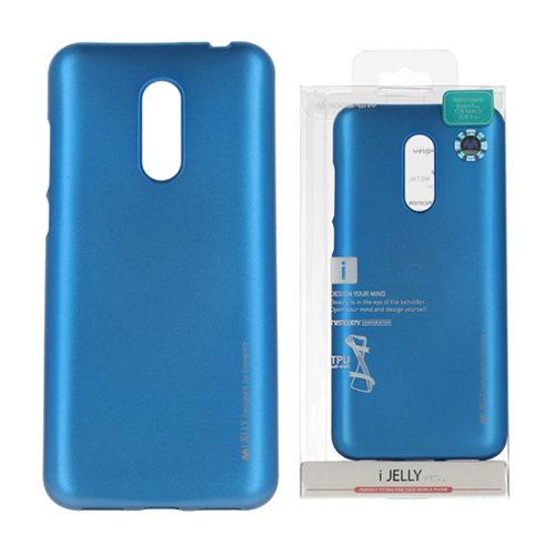 Xiaomi, redmi note 5, 5 plus, kék, szilikon tok ijelly