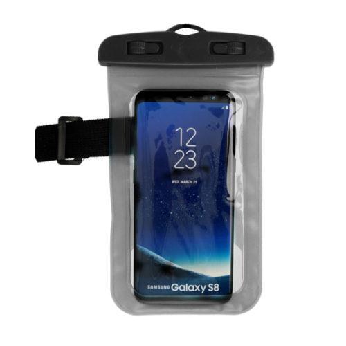 Vízálló telefontok fekete