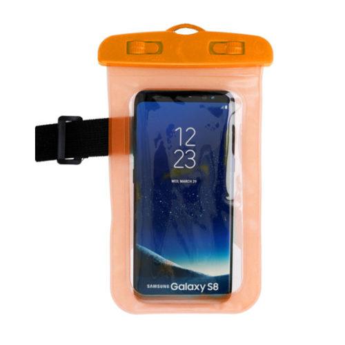 vízálló telefontok narancs