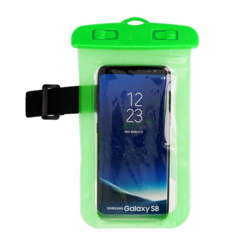 vízálló tok zöld